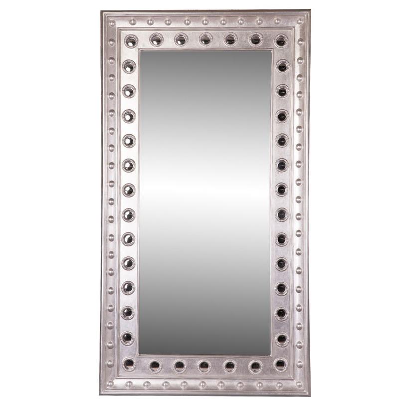 ЗеркалоНастенные зеркала<br>Рама этого массивного зеркала изготовлена из пластика, однако, выглядит словно из металла. Зеркало прямоугольной формы можно разместить как вертикально, так и горизонтально, а благодаря своей универсальности, зеркало легко впишется как в классический, так и в современный интерьер в стиле ар-деко, лофт, модерн.<br><br>Material: Пластик<br>Width см: 117<br>Depth см: 10<br>Height см: 223