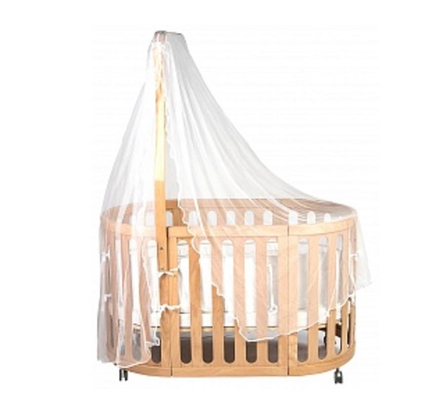 Детская кроватка Rail upДетские кроватки<br>Объем: 0,3 м3<br><br>Material: Текстиль<br>Length см: 130<br>Width см: 75<br>Height см: 75
