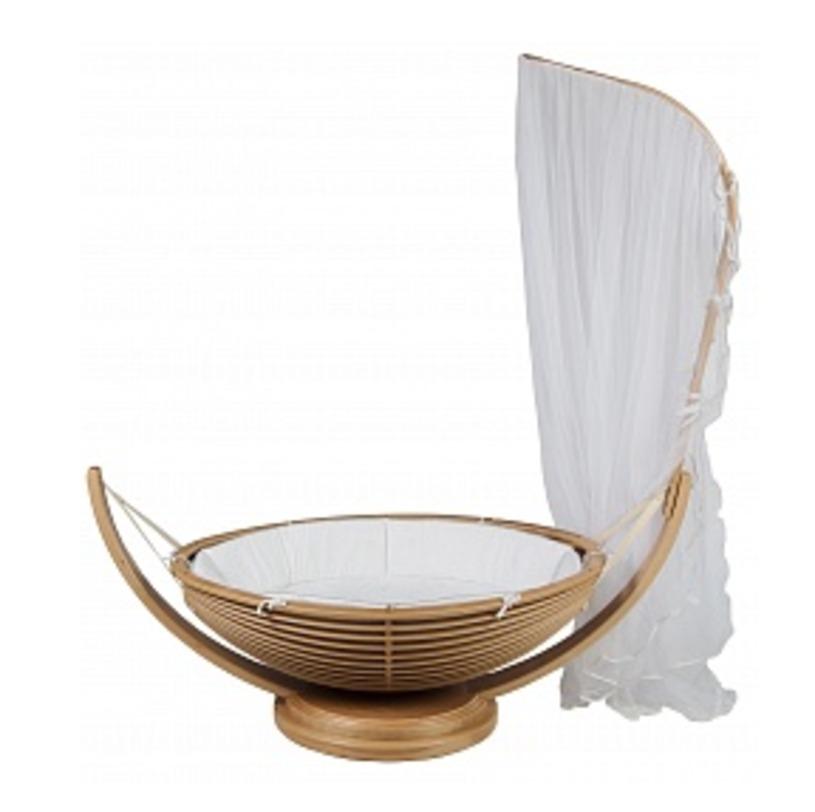 Детская кроватка Yoyo upКолыбели<br>Объем: 0,3 м3<br><br>Material: Текстиль<br>Ширина см: 158<br>Высота см: 43<br>Глубина см: 58