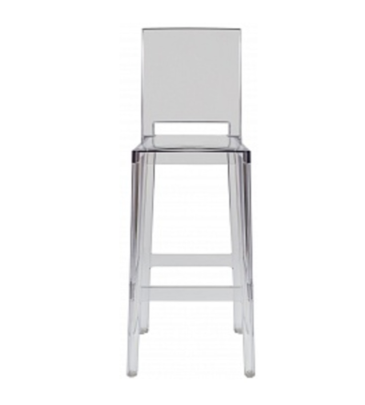 Стул One more,one more pleaseБарные стулья<br>Объем: 0,21 м3<br><br>Material: Пластик<br>Length см: None<br>Width см: 38<br>Depth см: 46<br>Height см: 65