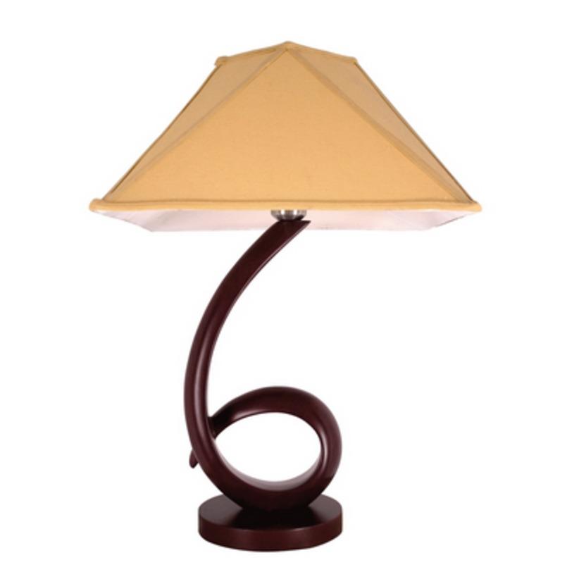 Лампа УютДекоративные лампы<br>Основание из МДФ, текстильный абажур.<br>1*60W E27<br>Тип лампы: Накаливания<br>Рекомендуемая площадь освещения: 3 кв. м<br><br>Material: МДФ<br>Length см: 40<br>Width см: 40<br>Height см: 60