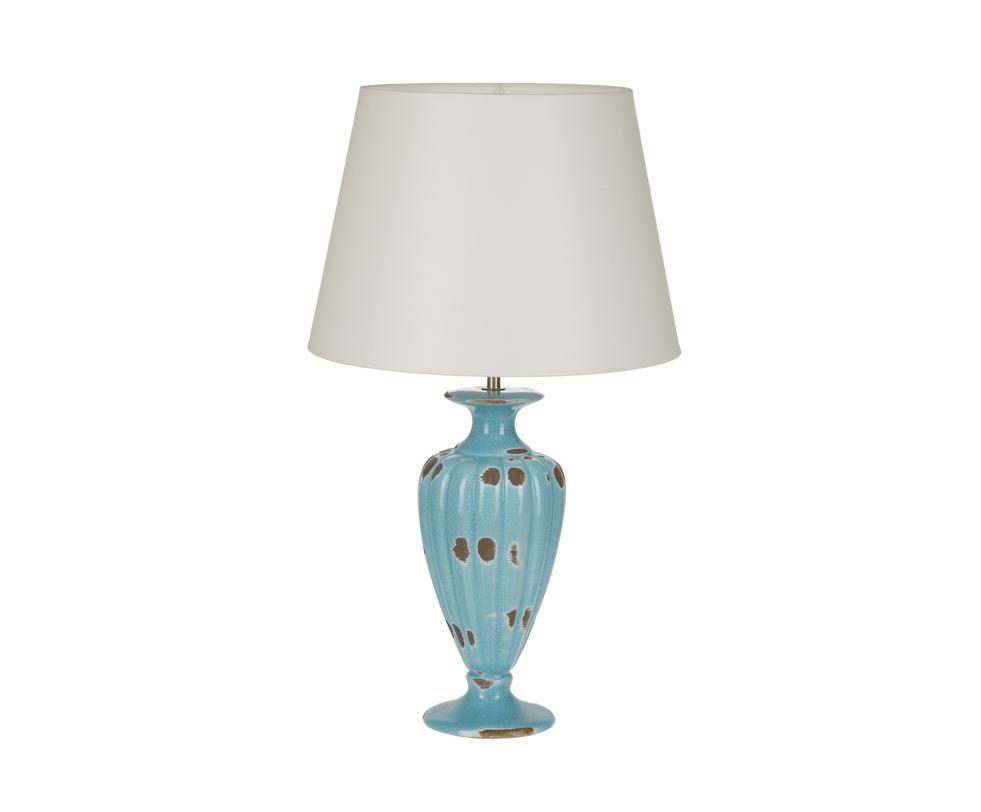Настольная лампаДекоративные лампы<br>Настольная лампа от португальского производителя изысканных коллекций керамики. Классическое основание выполнено в технике кракелюра и завершает его простой абажур бежевого или коричневого цветов.&amp;lt;div&amp;gt;&amp;lt;br&amp;gt;&amp;lt;/div&amp;gt;&amp;lt;div&amp;gt;&amp;lt;div&amp;gt;Вид цоколя: E27&amp;lt;/div&amp;gt;&amp;lt;div&amp;gt;Мощность: 60W&amp;lt;/div&amp;gt;&amp;lt;div&amp;gt;Количество ламп: 1&amp;lt;/div&amp;gt;&amp;lt;/div&amp;gt;<br><br>Material: Керамика<br>Высота см: 60