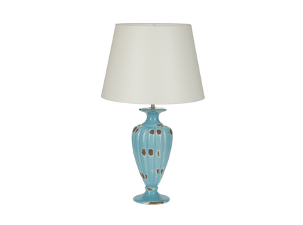 Настольная лампа (farol) голубой 35.0x60 см.