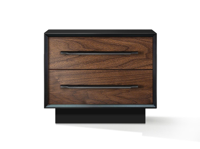 Тумба прикроватная garon (acwd) коричневый 60x50x40 см.