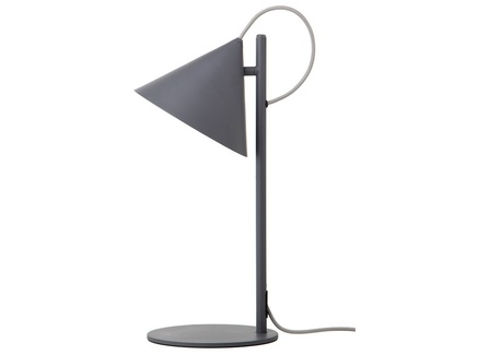 Лампа настольная вenjamin серая матовая (frandsen) серый 20.0x47.0x23.0 см.