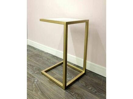 Прикроватный столик (for miss) золотой 36.0x65.5x36.0 см.