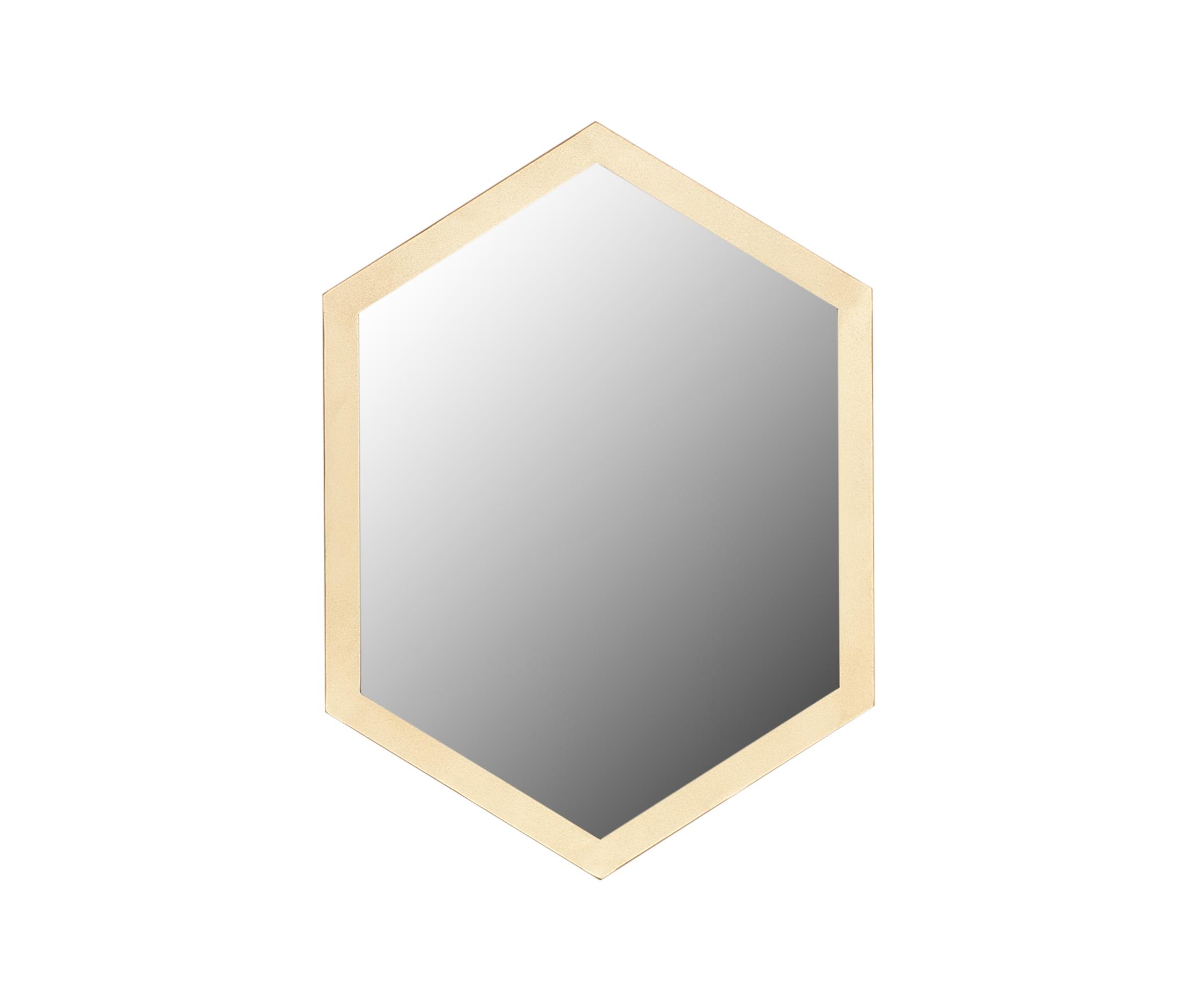 Зеркало (for miss) золотой 55.0x40.0x2.0 см. фото