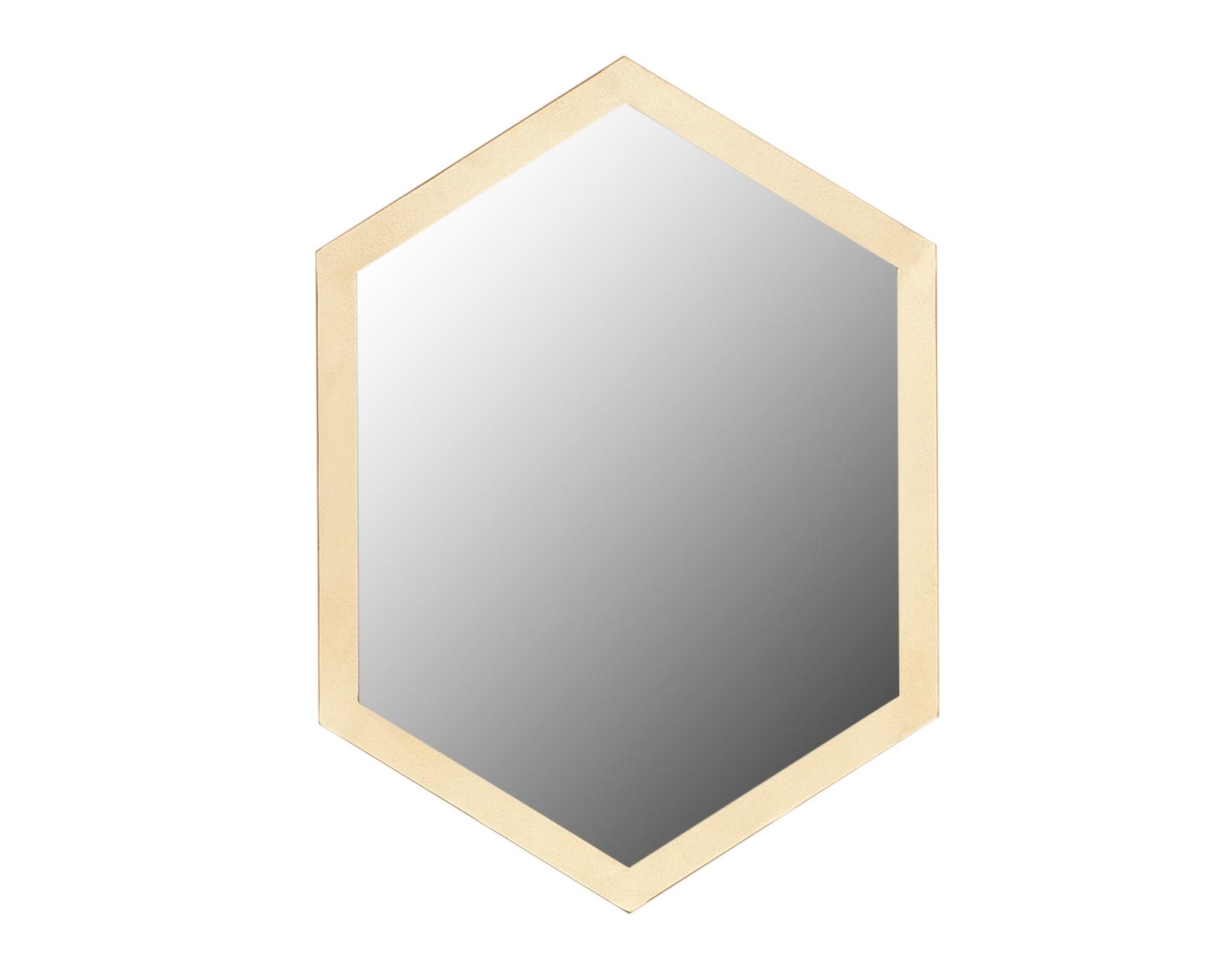 Зеркало (for miss) золотой 51.0x70.0x2.0 см. фото