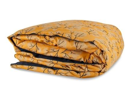 Пододеяльник сибирский цветок 150х200 (tkano) оранжевый 150x200 см.