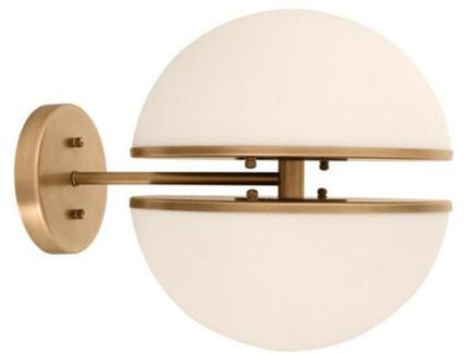 Бра шар (garda decor) бронзовый 40x30x30 см.
