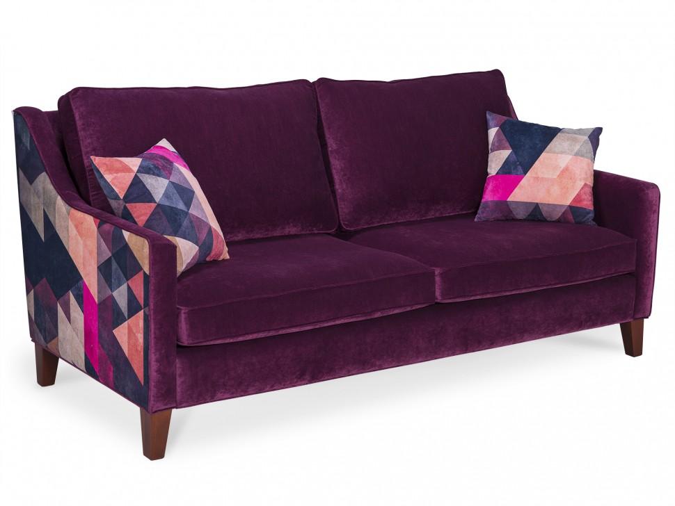 Icon designe диван triangle by james soares фиолетовый 106575/5