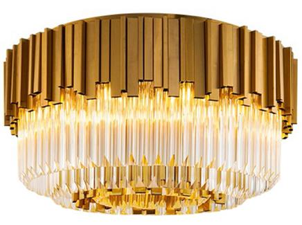 Потолочный светильник barclay (delight collection) золотой 60x38x60 см.
