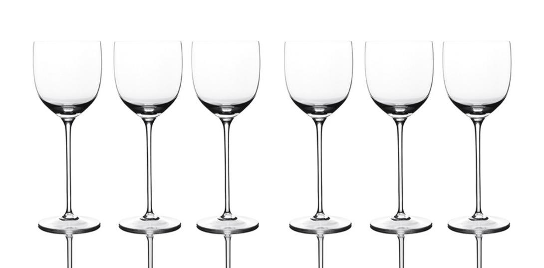 Набор бокалов для белого вина Villa legenda  (6 шт.)Бокалы<br>Ручное литьё<br><br>Material: Хрусталь<br>Length см: None<br>Width см: None<br>Depth см: None<br>Height см: 26.4<br>Diameter см: None