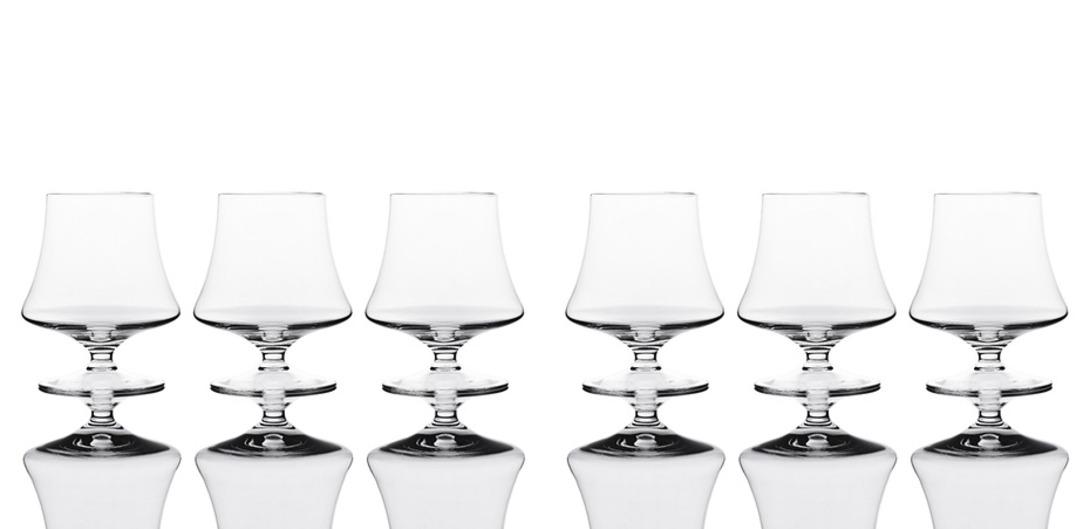 Набор из шести бокалов для бренди