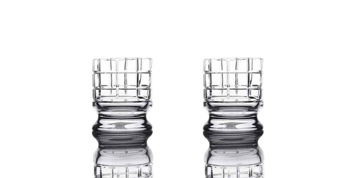 """Набор стаканов для виски на ножке/ледницы """"Scacchi"""""""