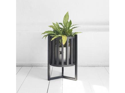 Кашпо куг (archpole) черный 34x50x34 см.