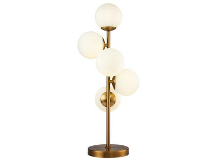 Лампа настольная шары (garda decor) бронзовый 28x66x18 см.