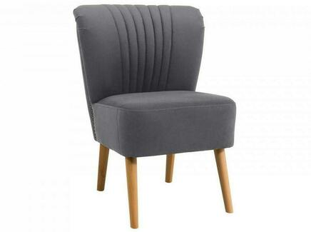 Кресло barbara (ogogo) серый 59x77x62 см.