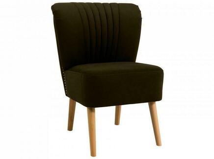 Кресло barbara (ogogo) коричневый 59x77x62 см.