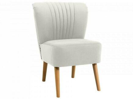 Кресло barbara (ogogo) белый 59x77x62 см.