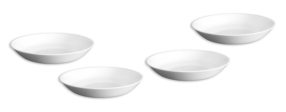 Набор тарелок для супаТарелки<br>Набор из 4 тарелок.<br><br>Material: Фарфор