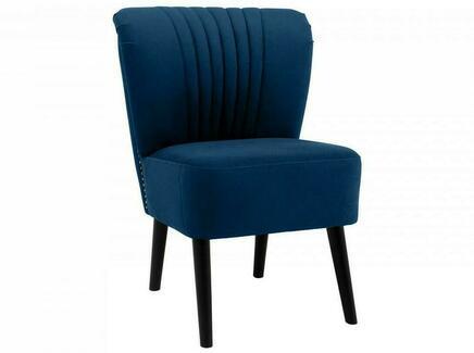 Кресло barbara (ogogo) синий 59x77x62 см.