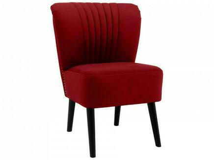 Кресло barbara (ogogo) красный 59x77x62 см.