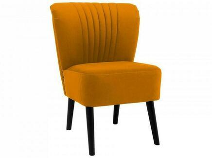 Кресло barbara (ogogo) желтый 59x77x62 см.