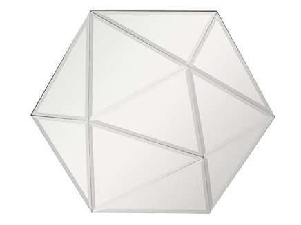 Зеркало объемное (garda decor) серебристый 100x86x5 см.