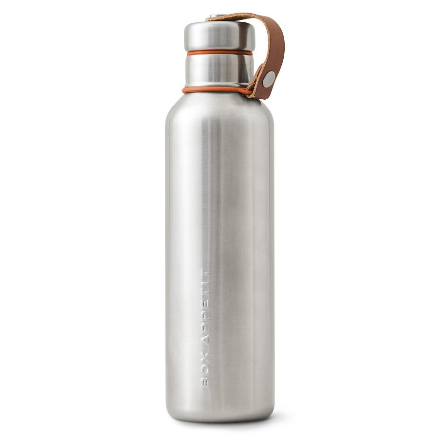 Фляга water bottle (black+blum) мультиколор 28x7x7 см..