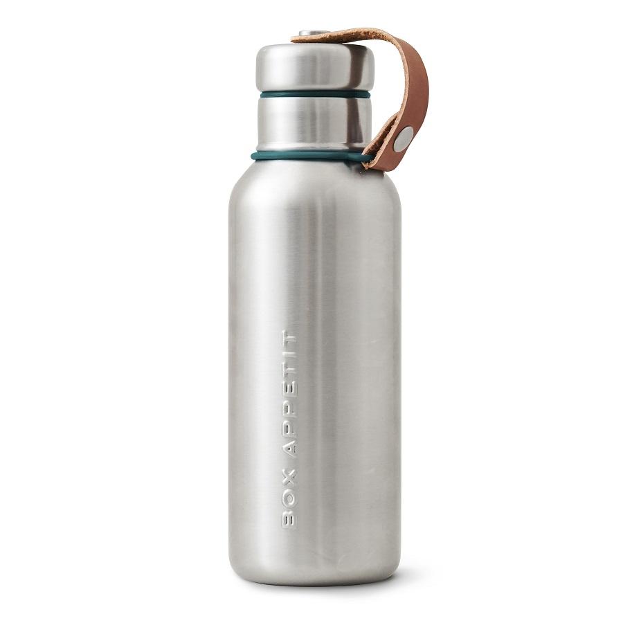 Фляга water bottle (black+blum) мультиколор 22x7x7 см..