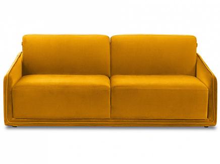 Диван toronto (ogogo) желтый 210x86x115 см.