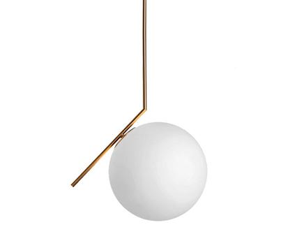 Подвесной светильник (delight collection) золотой 30x150x30 см.