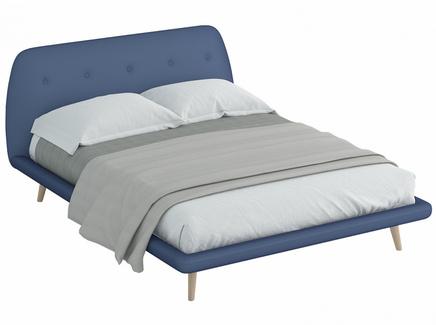 Кровать loa (ogogo) голубой 178x95x223 см.