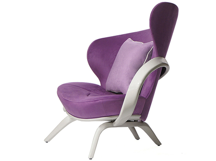 Кресло apriori а (actualdesign) фиолетовый 95.0x95.0x110.0 см.