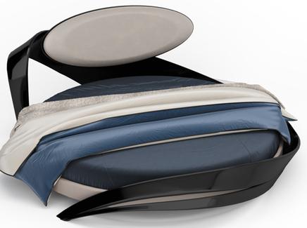 Кровать круглая «brazo» (actualdesign) белый