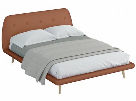 Кровать loa (ogogo) коричневый 178x95x223 см.