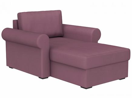 Кушетка peterhof (ogogo) фиолетовый 122x88x170 см.
