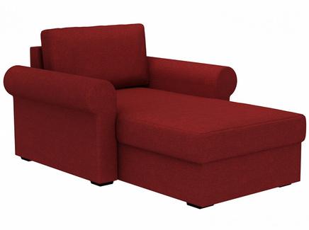 Кушетка peterhof (ogogo) красный 122x88x170 см.