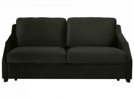 Диван-кровать трёхместный windsor (ogogo) черный 215x88x102 см.