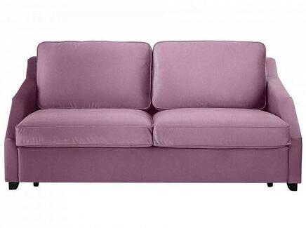 Диван-кровать трёхместный windsor (ogogo) фиолетовый 215x90x102 см.