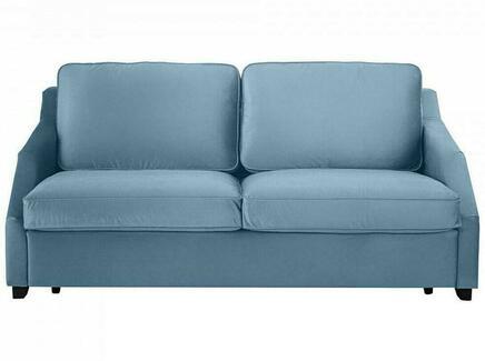 Диван-кровать трёхместный windsor (ogogo) голубой 215x90x102 см.
