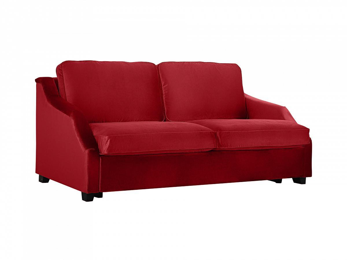 Ogogo диван-кровать трёхместный windsor красный 107516/107556