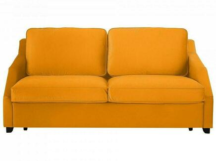 Диван-кровать трёхместный windsor (ogogo) желтый 215x90x102 см.
