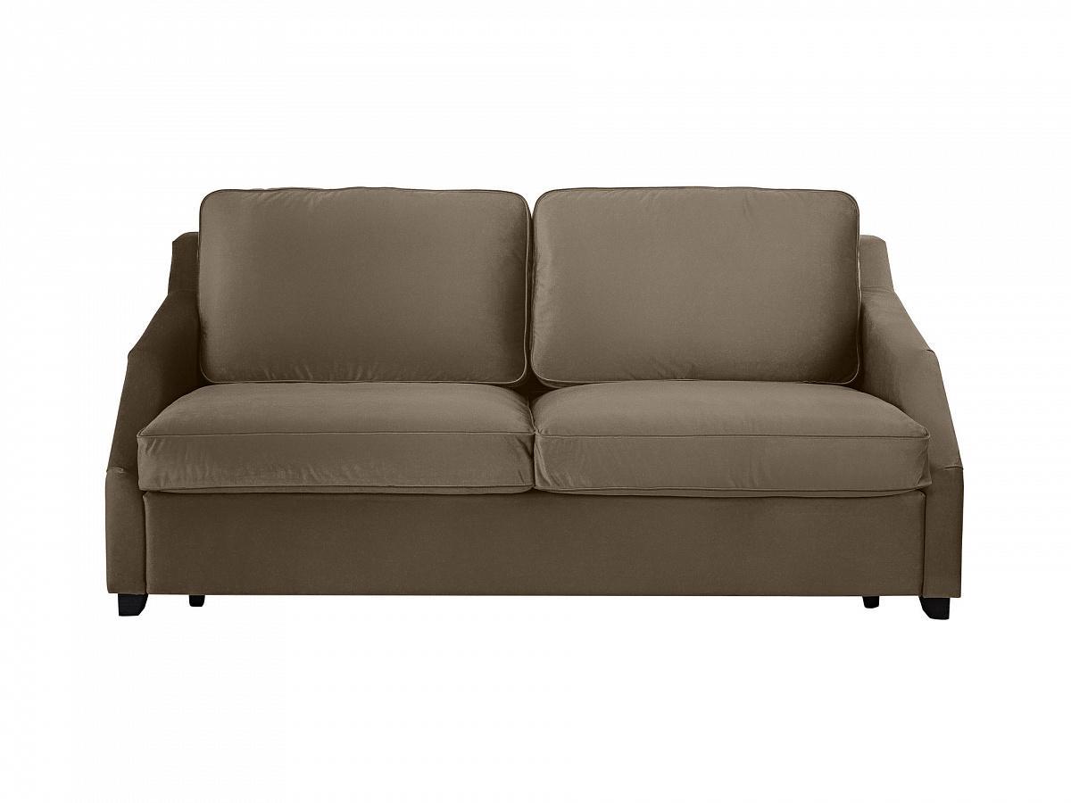 Диван-кровать трёхместный windsor (ogogo) серый 215x90x102 см. фото