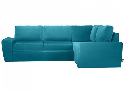 Диван peterhof (ogogo) голубой 281x88x201 см.