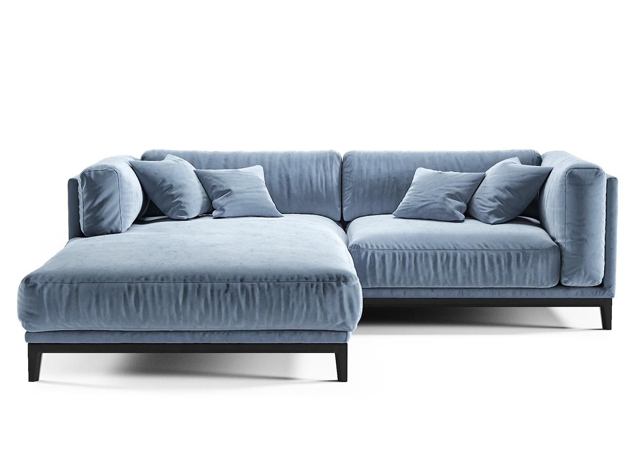 The idea диван case синий 108252/2
