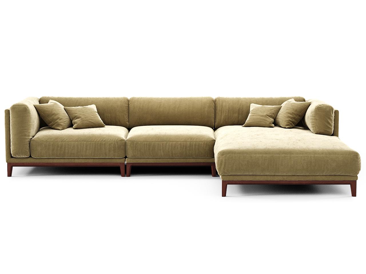 The idea диван case бежевый 108253/4