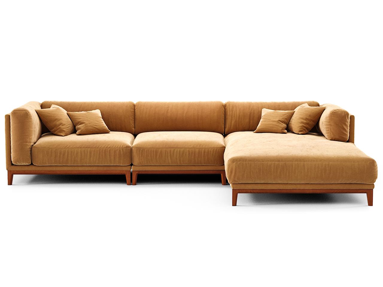 The idea диван case оранжевый 108254/2