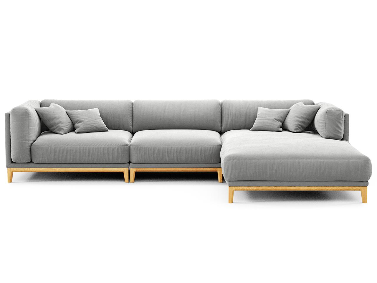 The idea диван case серый 108256/5